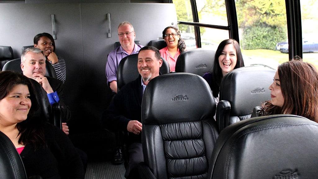 Image result for group transportation services